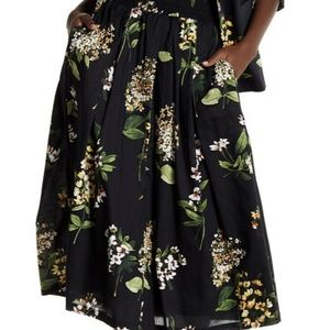 NWT Tommy Hilfiger Garden Tour Pleated Skirt
